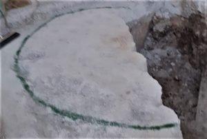 Demolizione controllata: taglio cemento