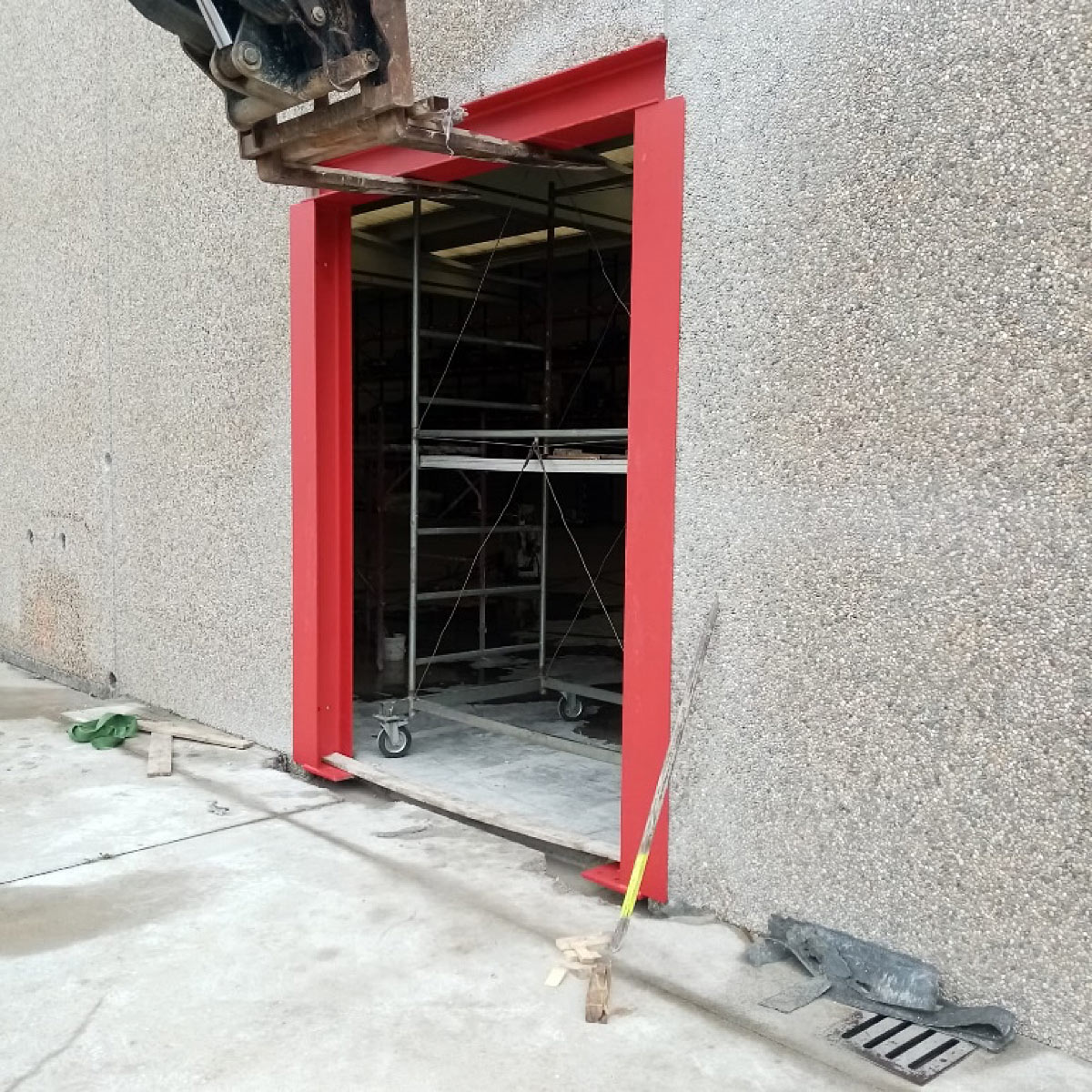 Creazione aperture: aprire una porta in un muro